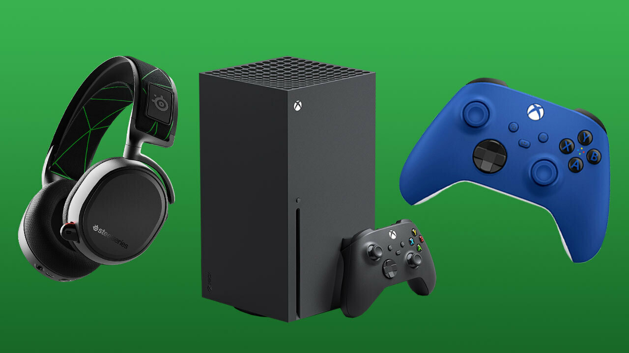 A wide range of Xbox Series X headsets, controllers, and other accessories are available.