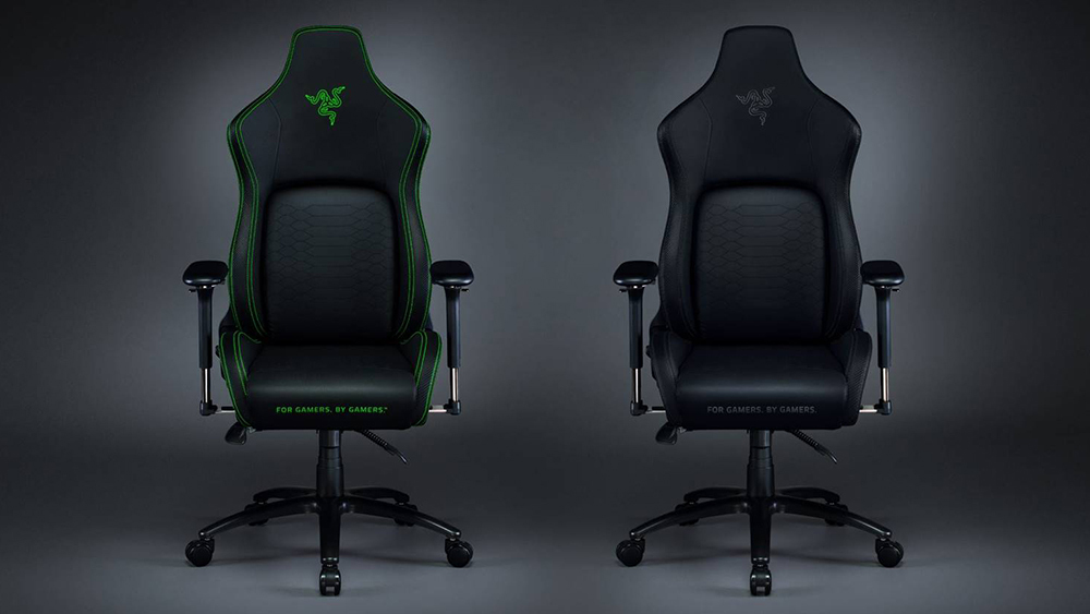 The all-black Razer Iskur is the same chair with a more subtle design.