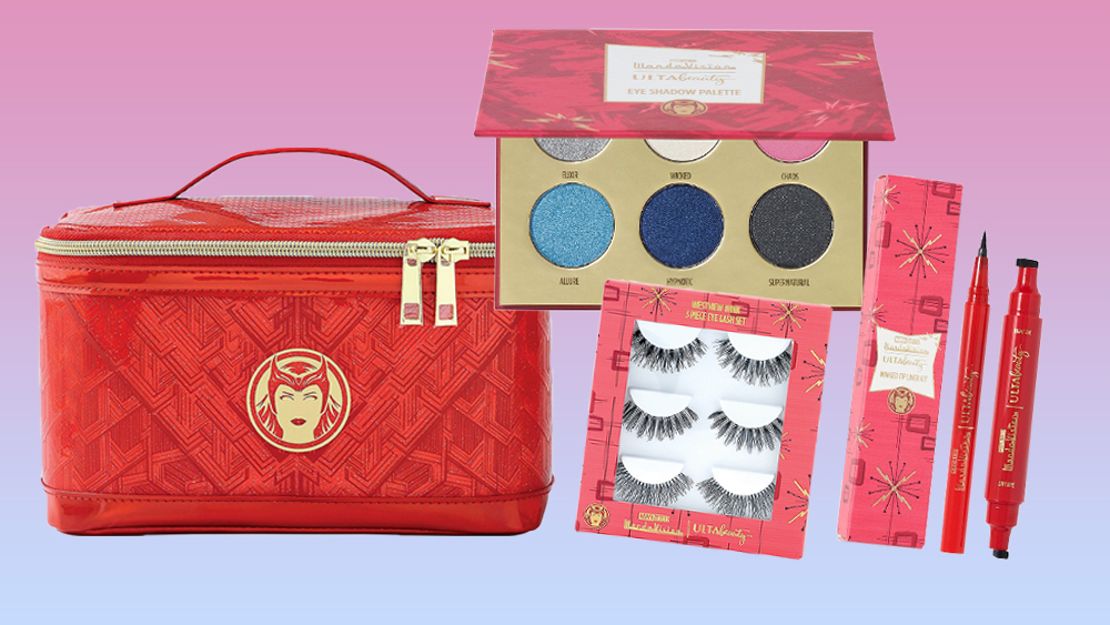 The WandaVision x Ulta makeup collection is available now.