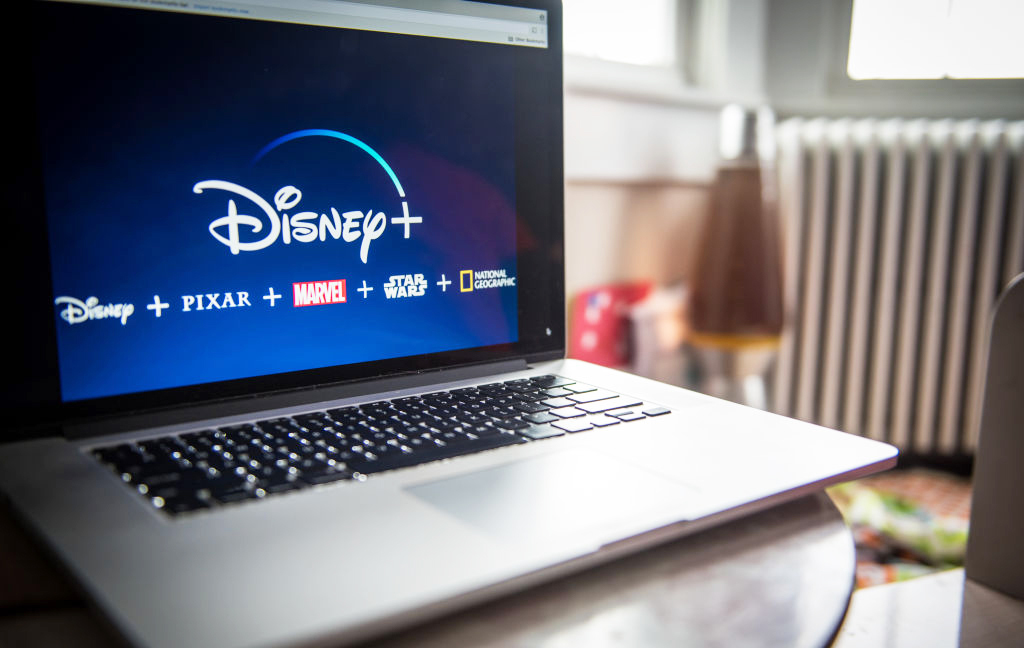 The Disney+ library includes Star Wars, Marvel, Pixar, and more. (Getty)