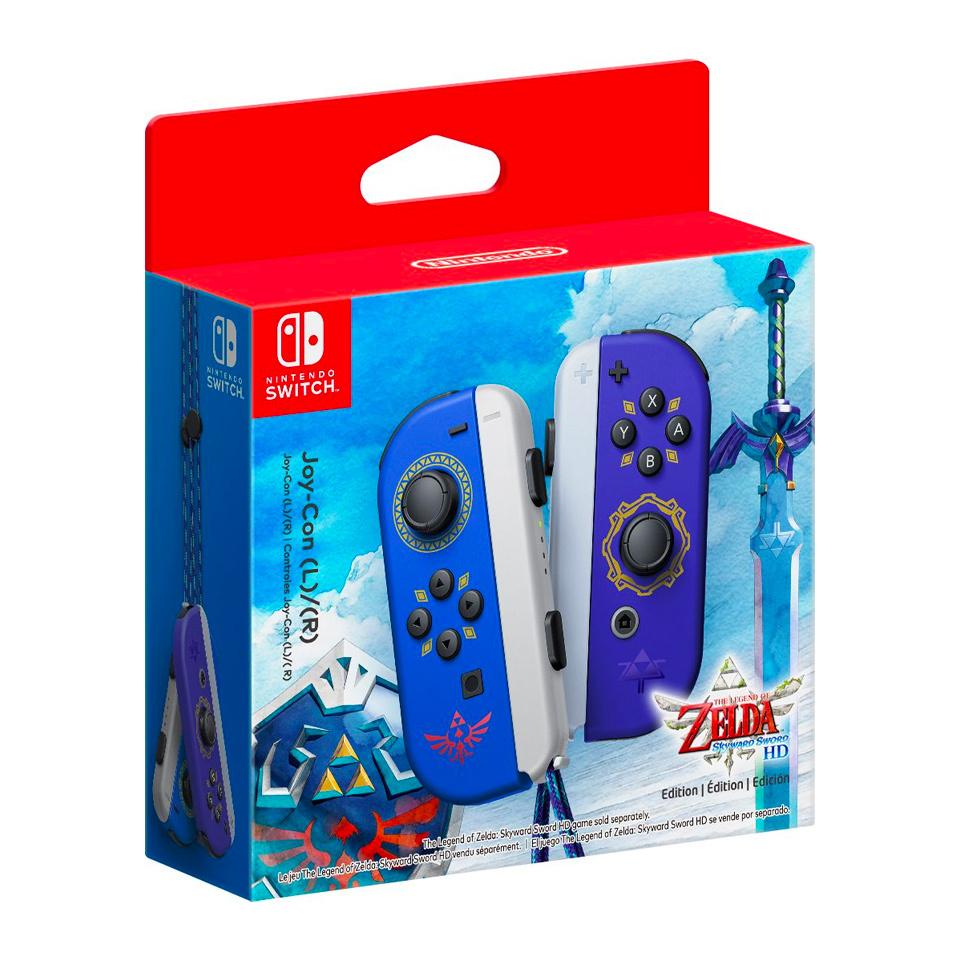 The Zelda Switch Joy-Cons release July 16 alongside Skyward Sword HD.