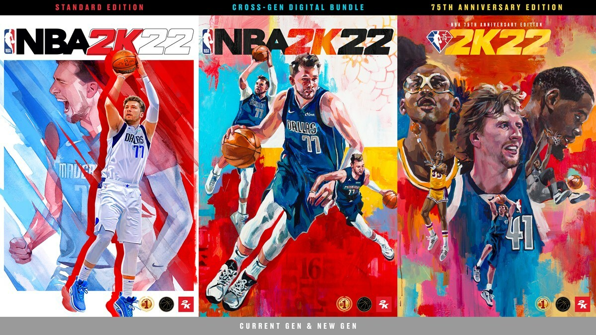 NBA 2K22 features three separate editions ranging from $60 to $100.