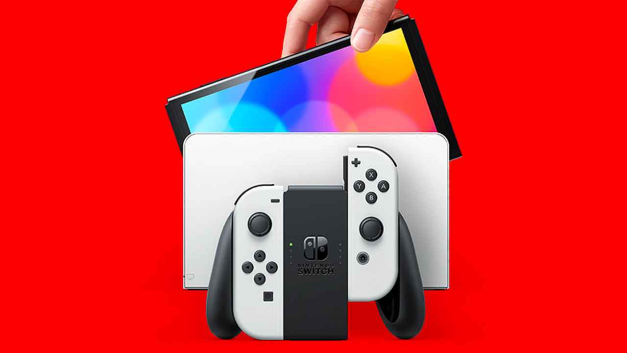 The Nintendo Switch OLED model sells for $350, $50 more than the standard Switch.