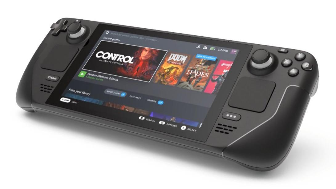 O novo dispositivo portátil da Valve, o Steam Deck, tem preço inicial de $ 399.