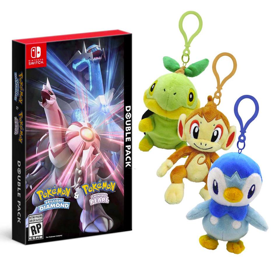 Pokemon Brilliant Diamond / Shining Pearl Double Pack preorder bonus