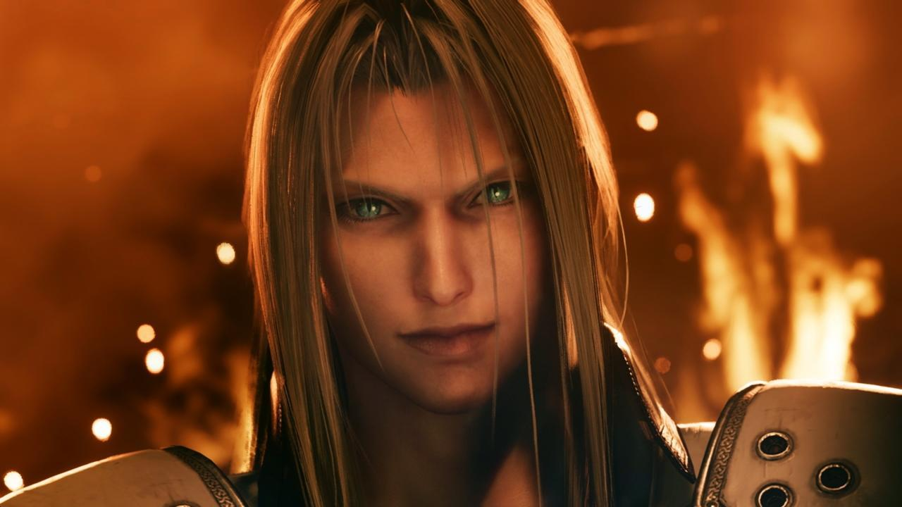 You'll be seeing a lot more of Sephiroth in the future.