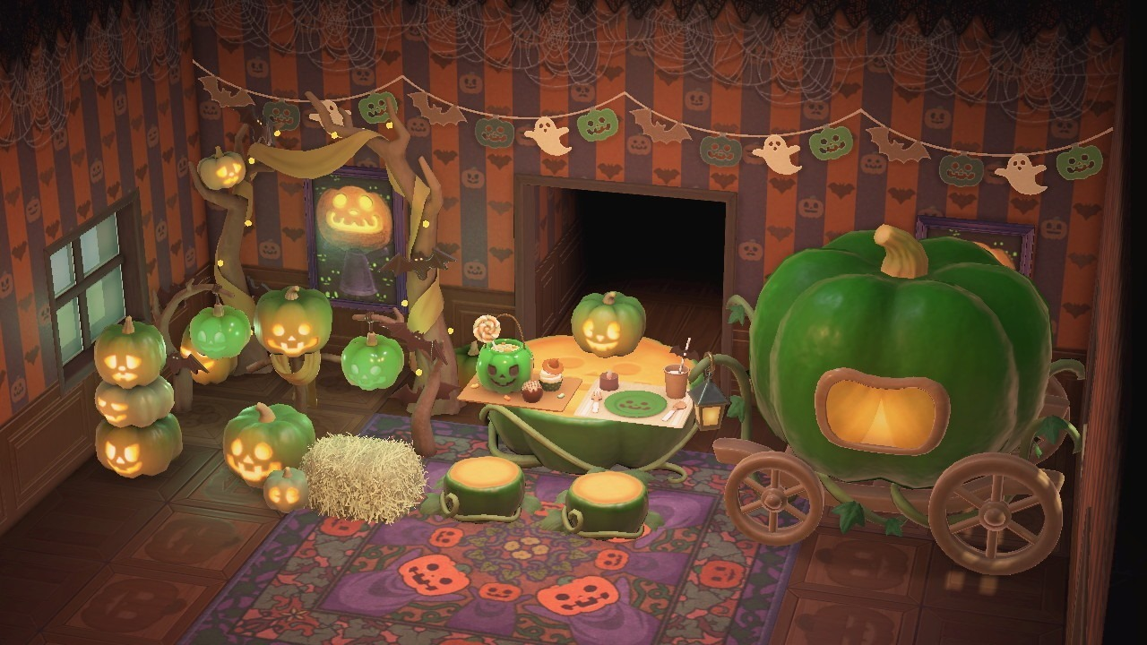 Spooky Set customized with the rare green pumpkin. Check out more color varieties below.