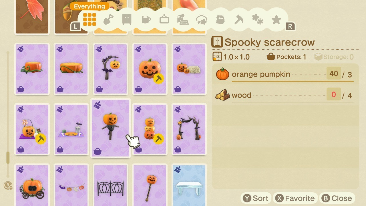 Spooky Set pumpkin DIY recipes available to craft.