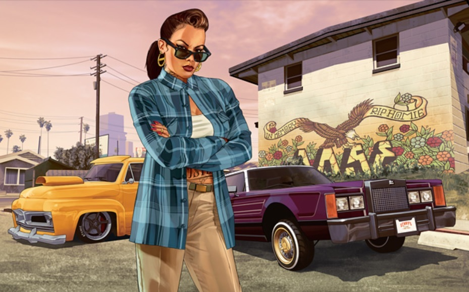 Promotional art for GTA Online's Lowriders: Custom Classics content update.