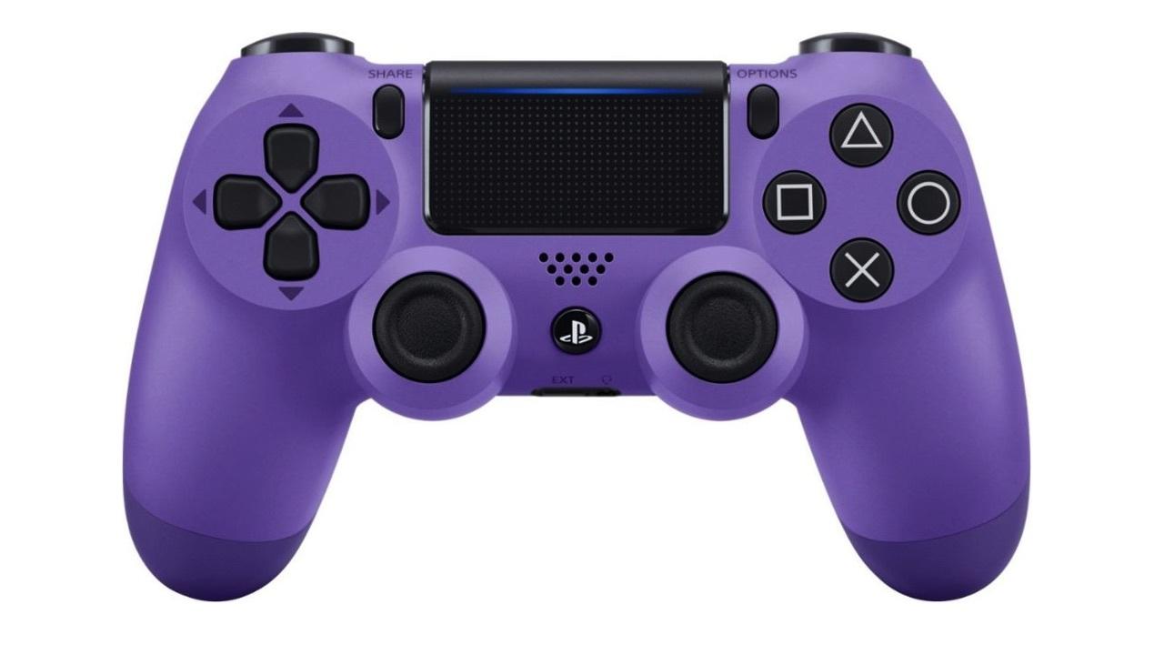 DualShock 4 Electric Purple controller - $39
