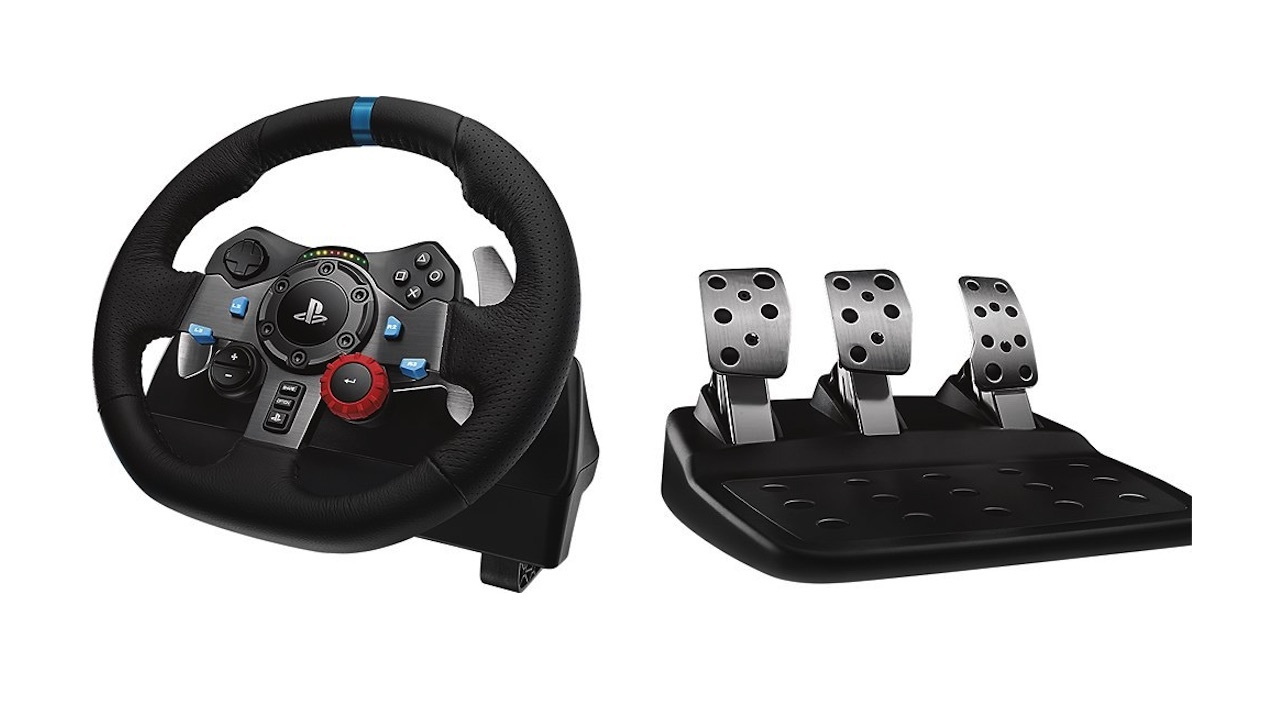 Logitech G29 PS4 Driving Force Racing Wheel - $200