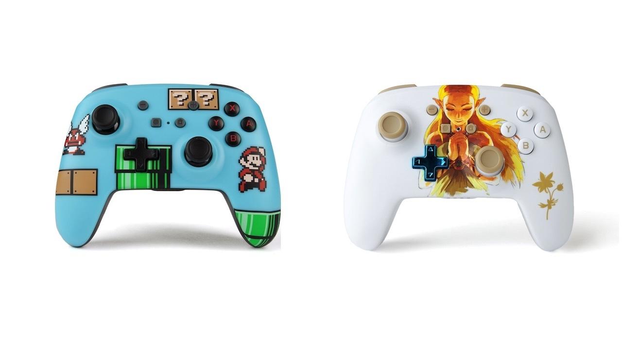 PowerA Enhanced wireless Nintendo Switch controllers - $29