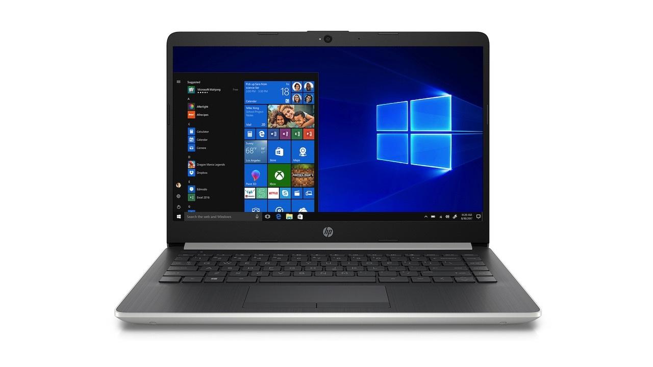 HP 14-inch laptop (Intel Celeron) $149