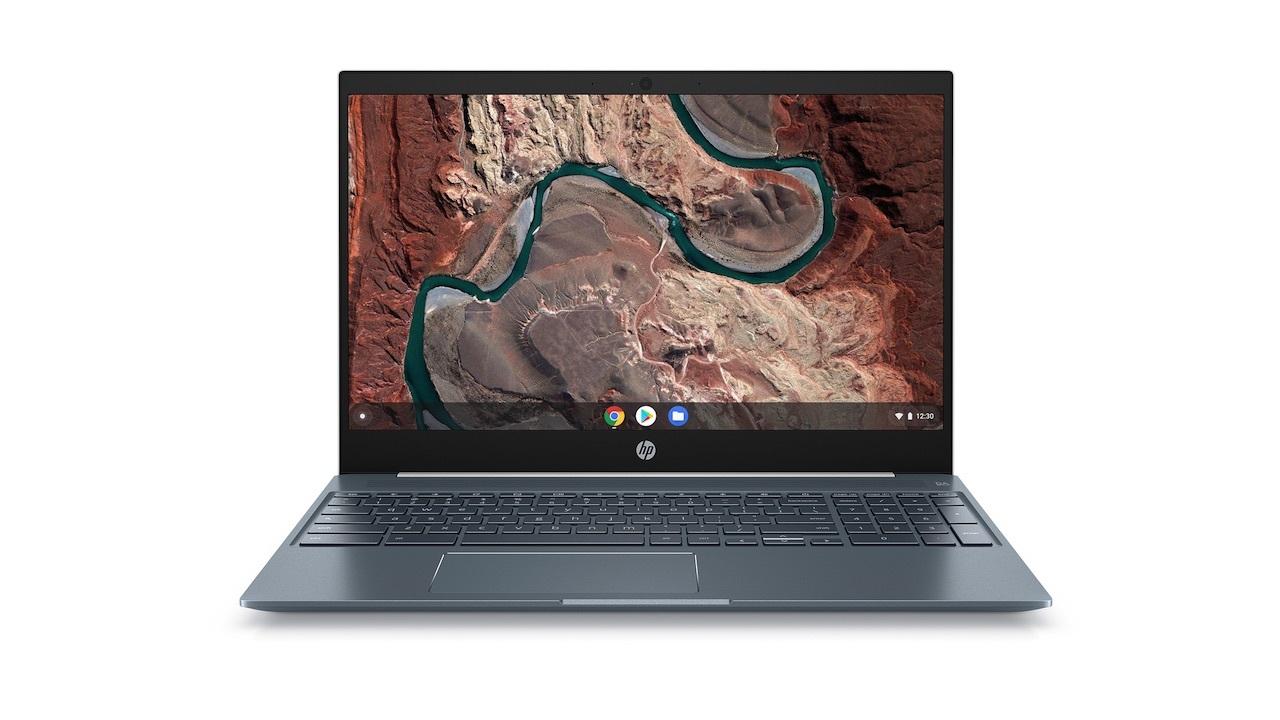 HP 15.6-inch touchscreen Chromebook - $299