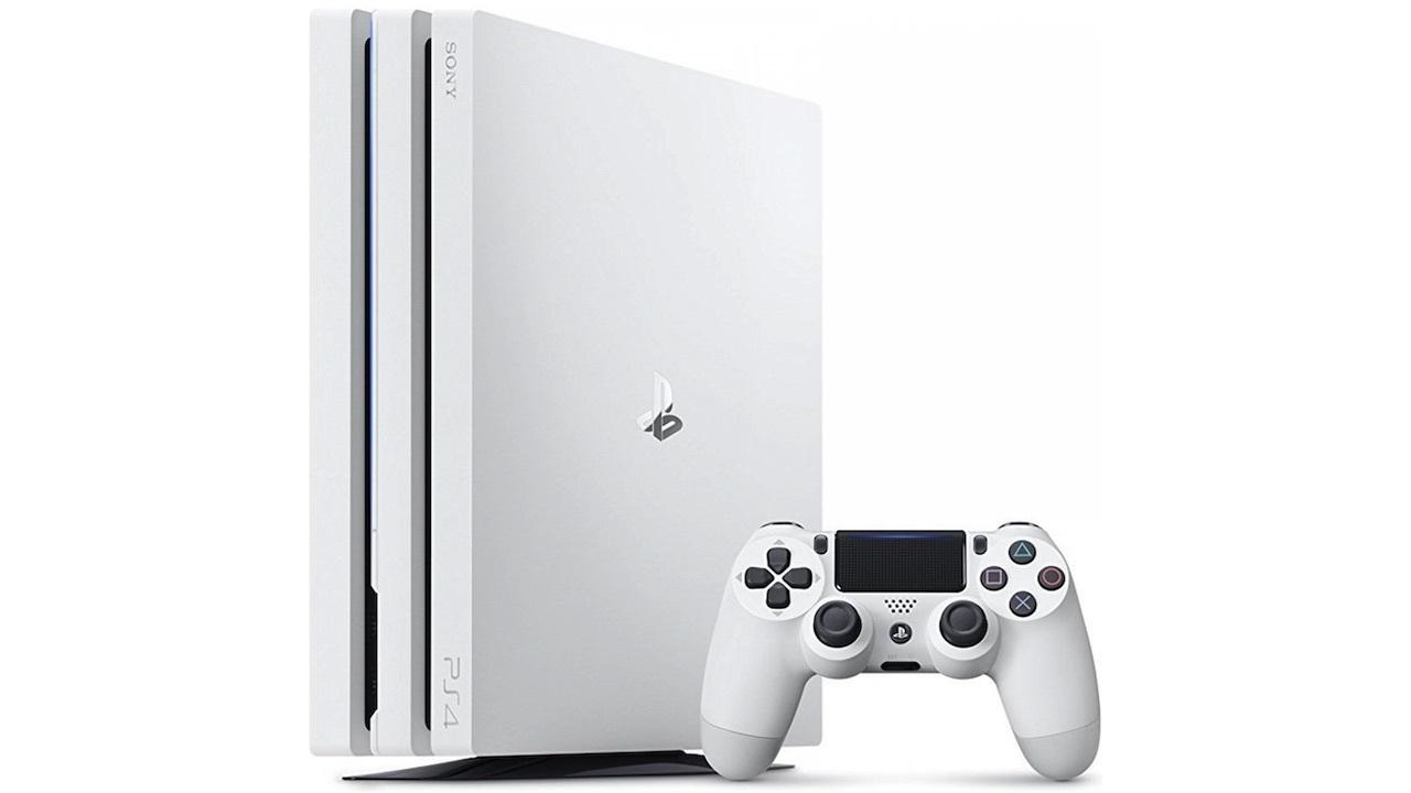 PS4 Pro Glacier White -- $300