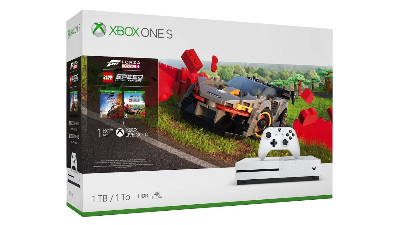 Xbox One S with Forza Horizon 4 + Lego Speed Champions -- $199