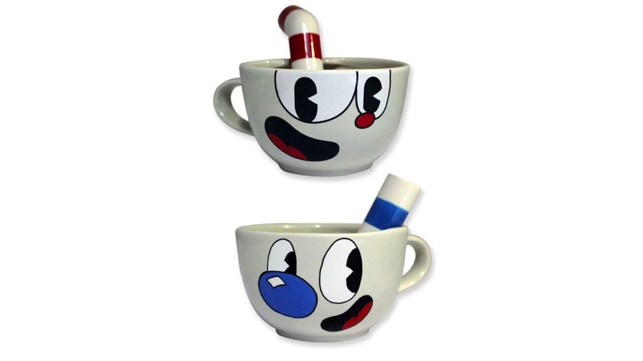 Cuphead and Mugman mugs