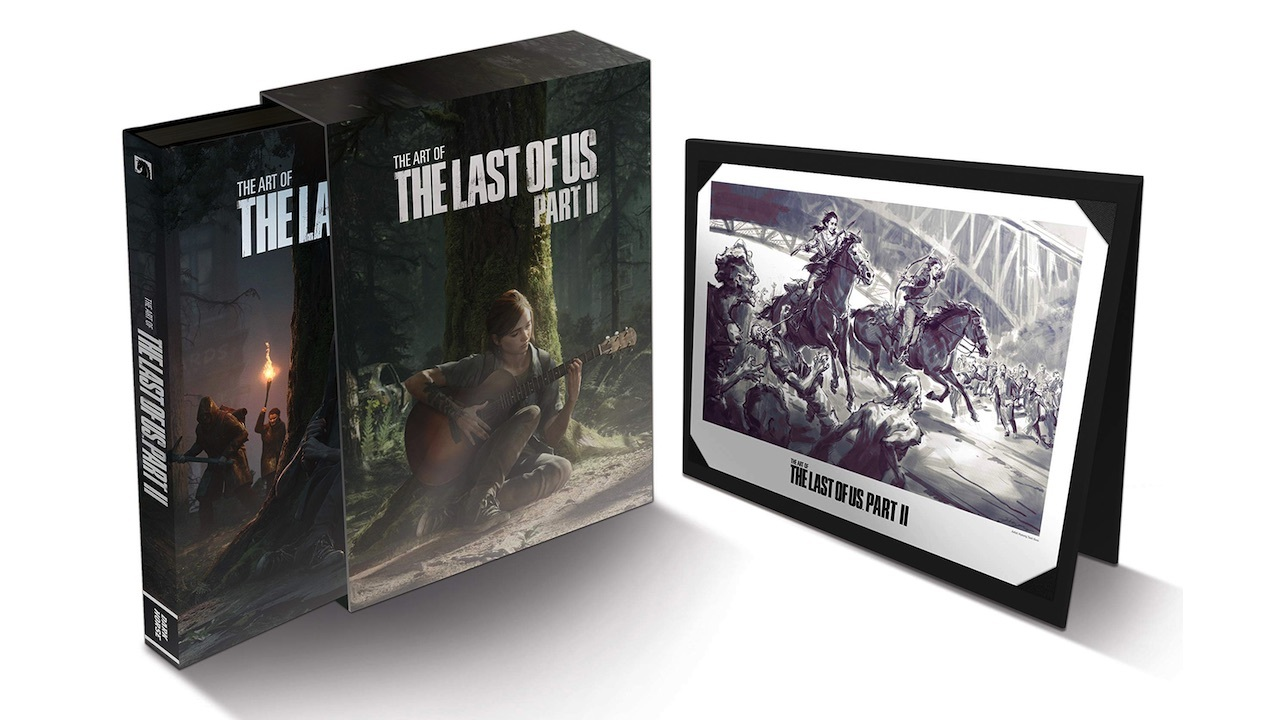 The Art of The Last of Us Part II Deluxe Edition -- $90