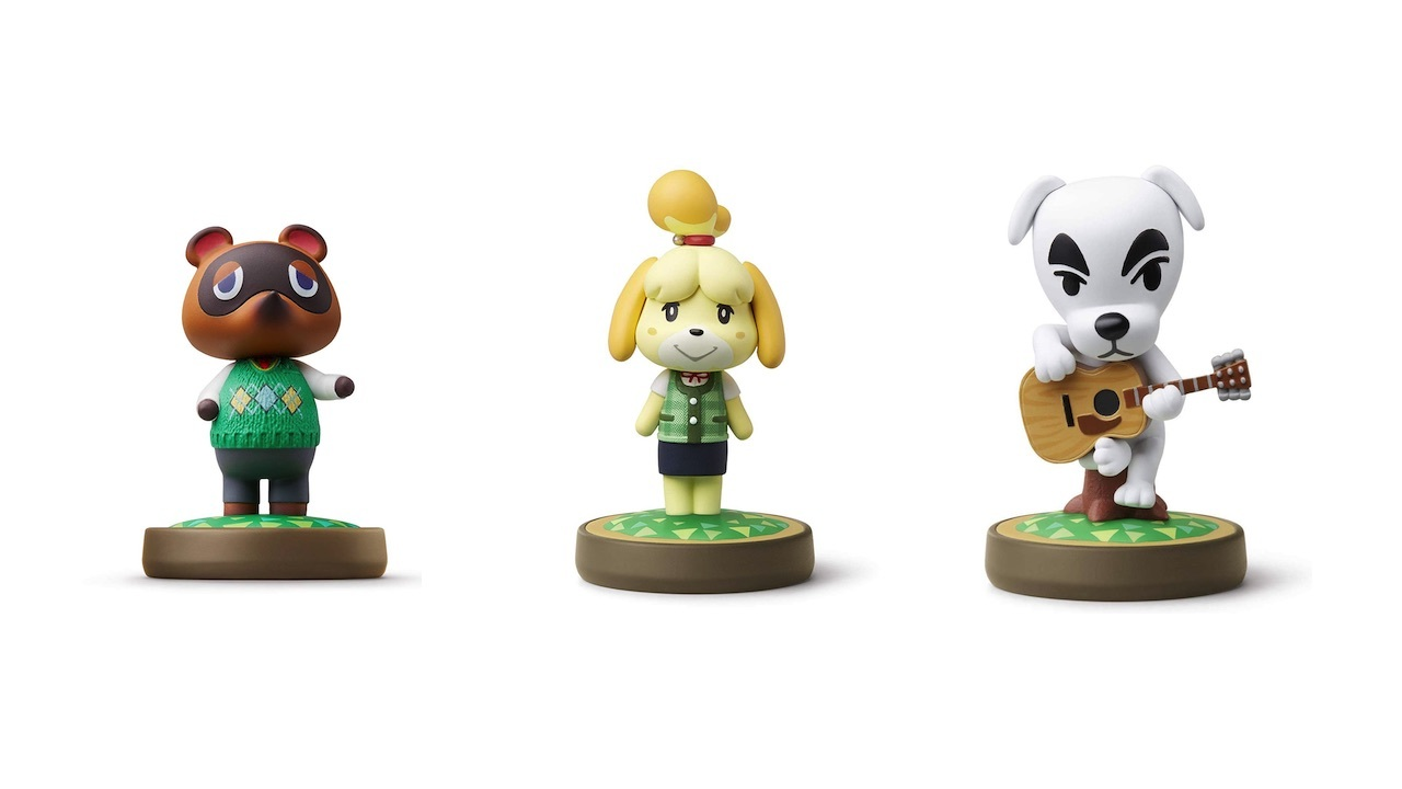 There are 16 Animal Crossing Amiibo