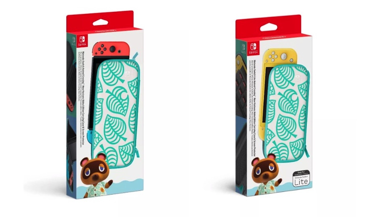Nintendo will release matching carrying cases for the Switch and Switch Lite