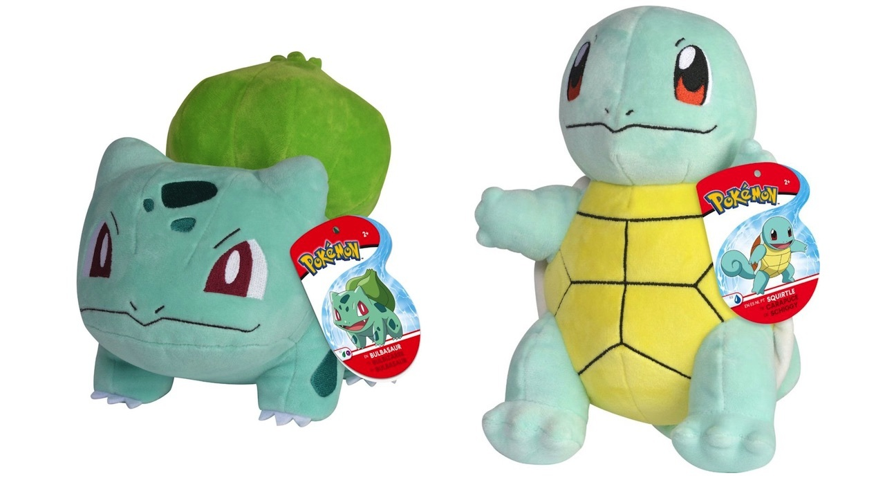 More 8-inch Pokemon plushies...different price