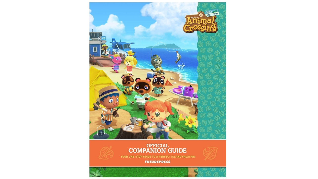 Animal Crossing: New Horizons Official Companion Guide -- $18