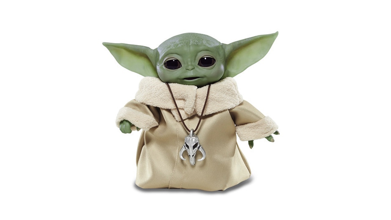 Animatronic Baby Yoda is available this fall