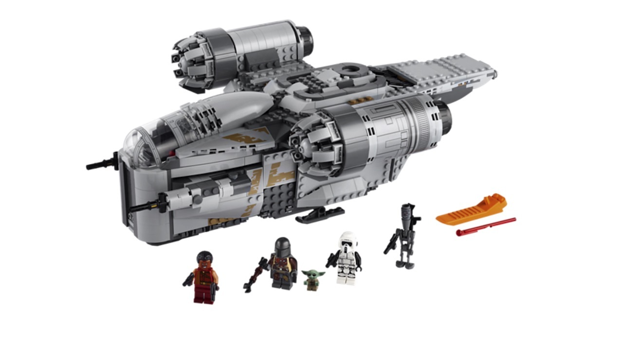 Build Mando's ship, but make sure to let Baby Yoda hold the gear shift knob
