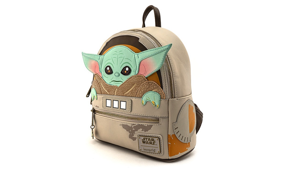 Loungefly's Baby Yoda backpack releases in June