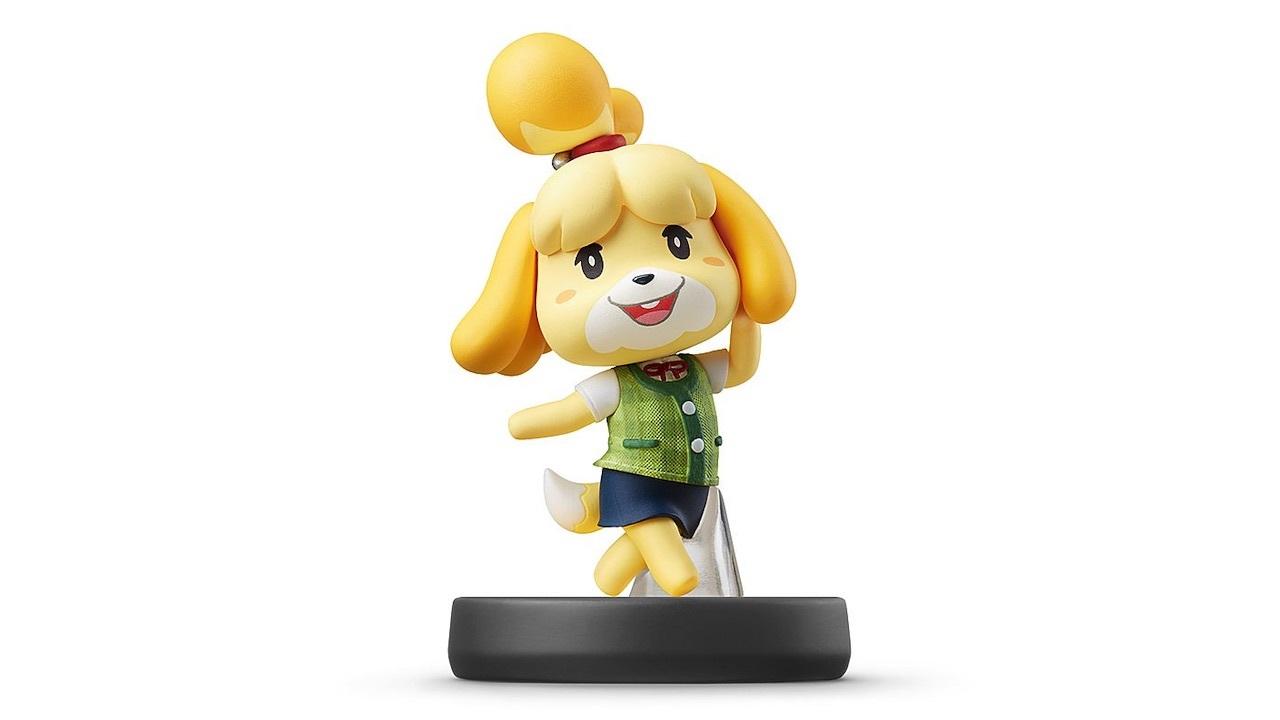 Isabelle Super Smash Bros. Amiibo -- $16