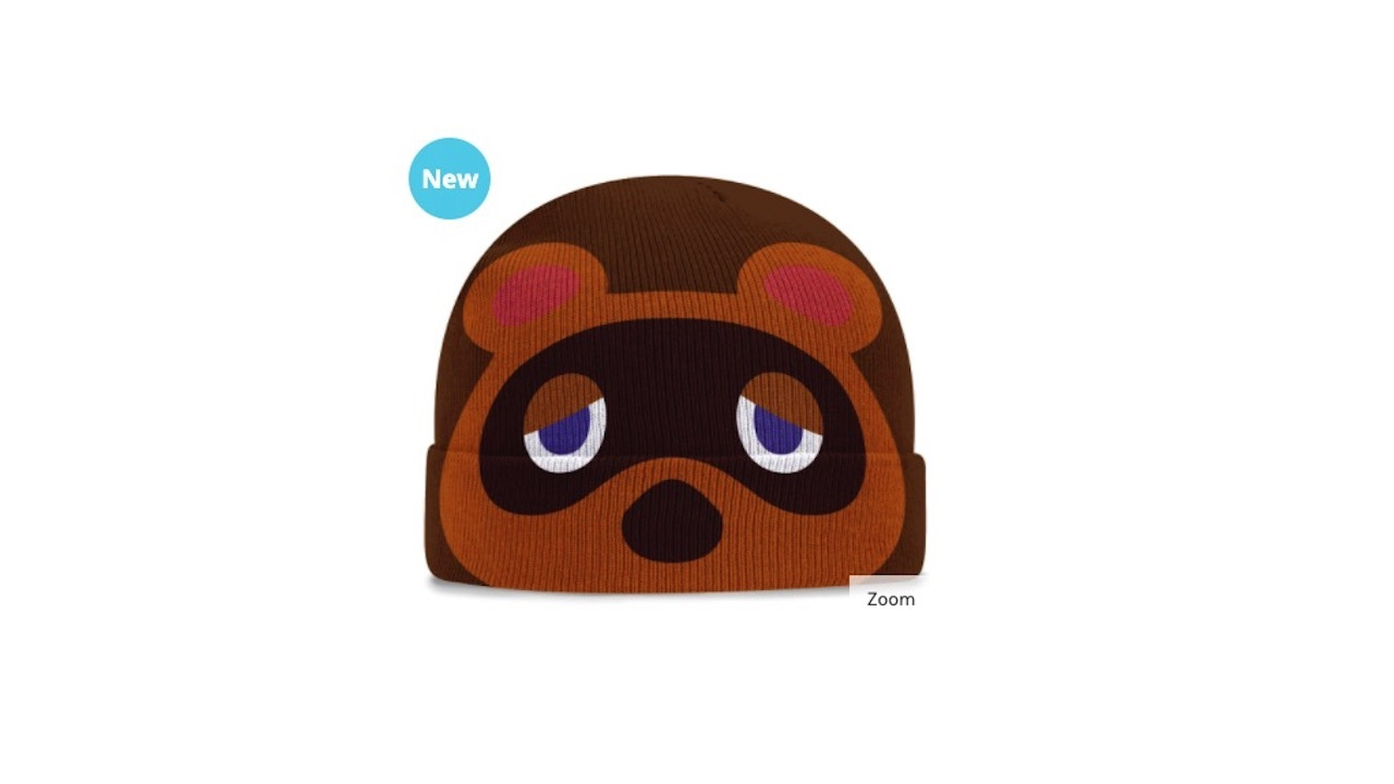 Tom Nook looking extremely happy
