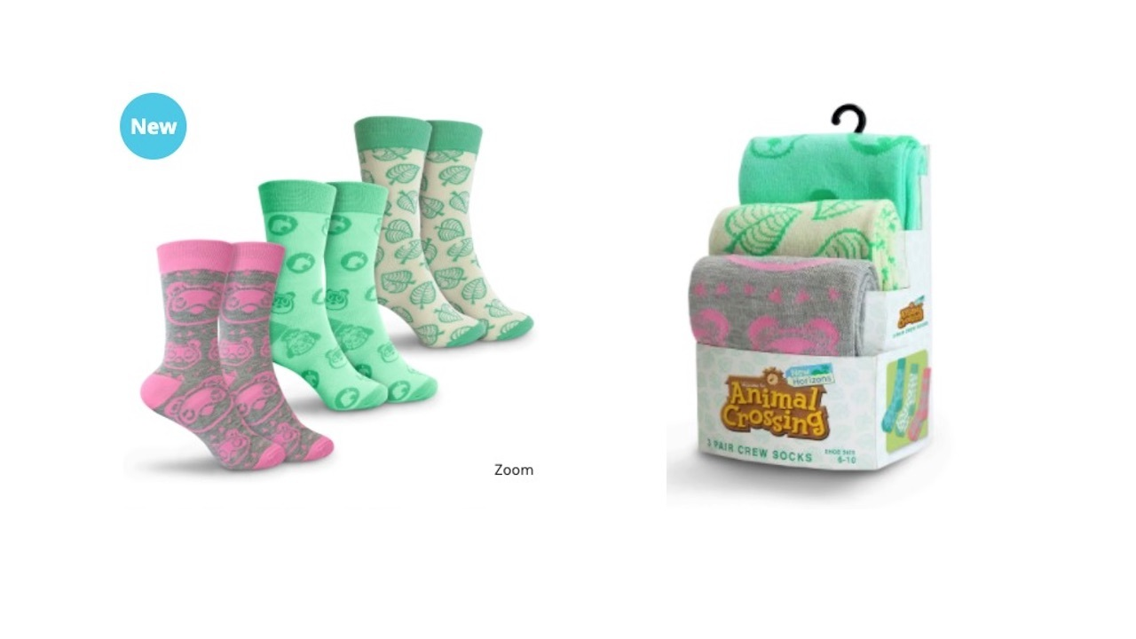 Three pairs of cute and snuggly long socks to keep your feet warm