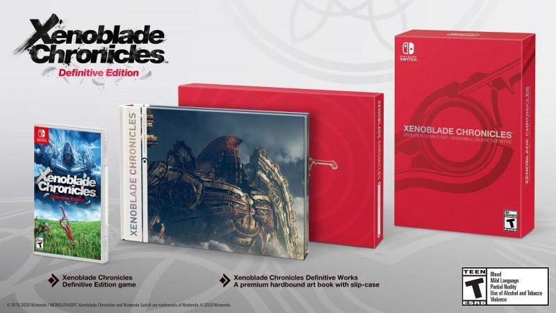 Xenoblade Chronicles Definitive Works Set