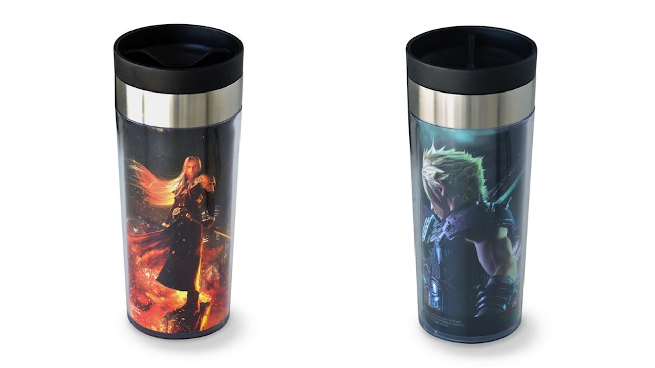 Sephiroth and Cloud tumblers