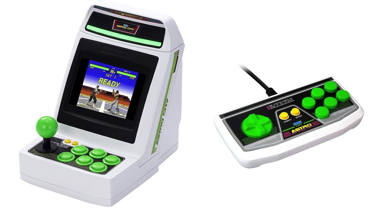 Astro City Mini Arcade cabinet (gamepad sold separately)