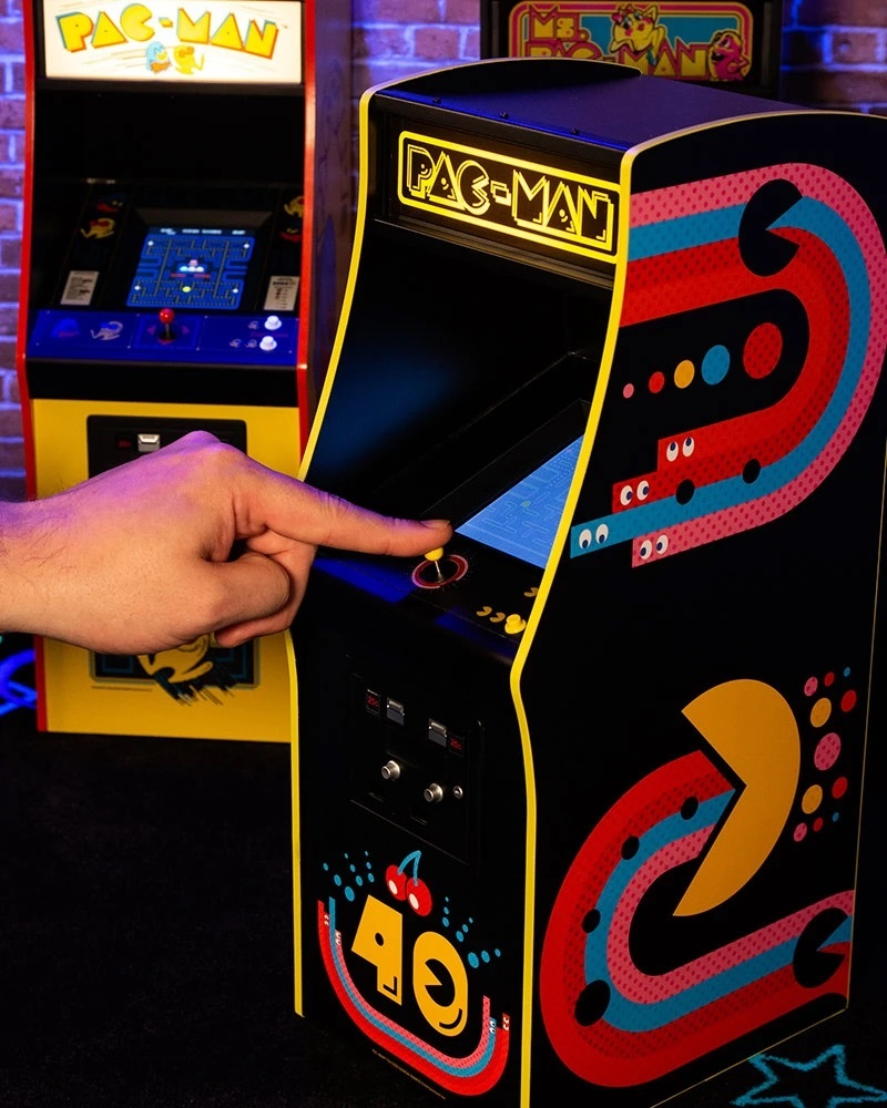 The 40th Anniversary edition of Pac-Man is just one of Numskull's Quarter Arcades