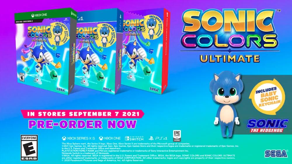 Sonic Colors: Ultimate preorder bonuses