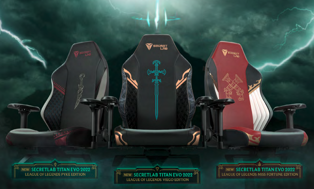 Titan Evo 2022 League of Legends Gaming Chairs