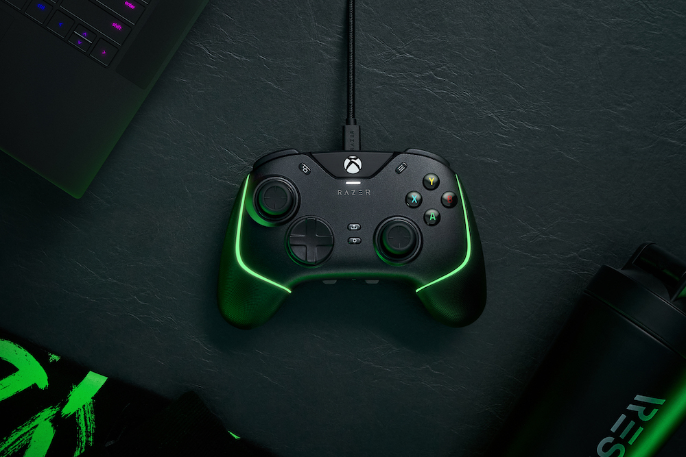 The Wolverine V2 Chroma is a wired controller for competitive gamers.