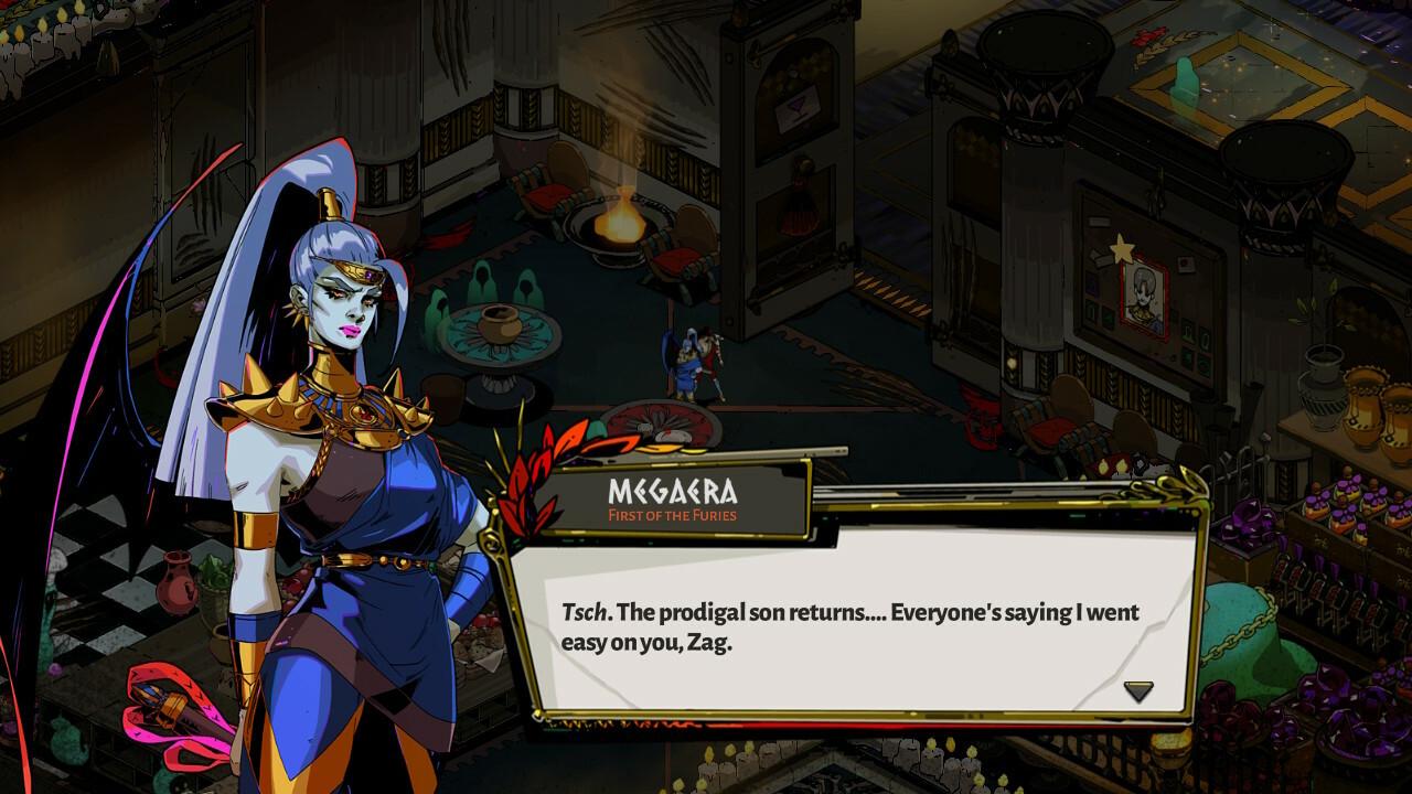 Meeting Megaera for a drink after a run