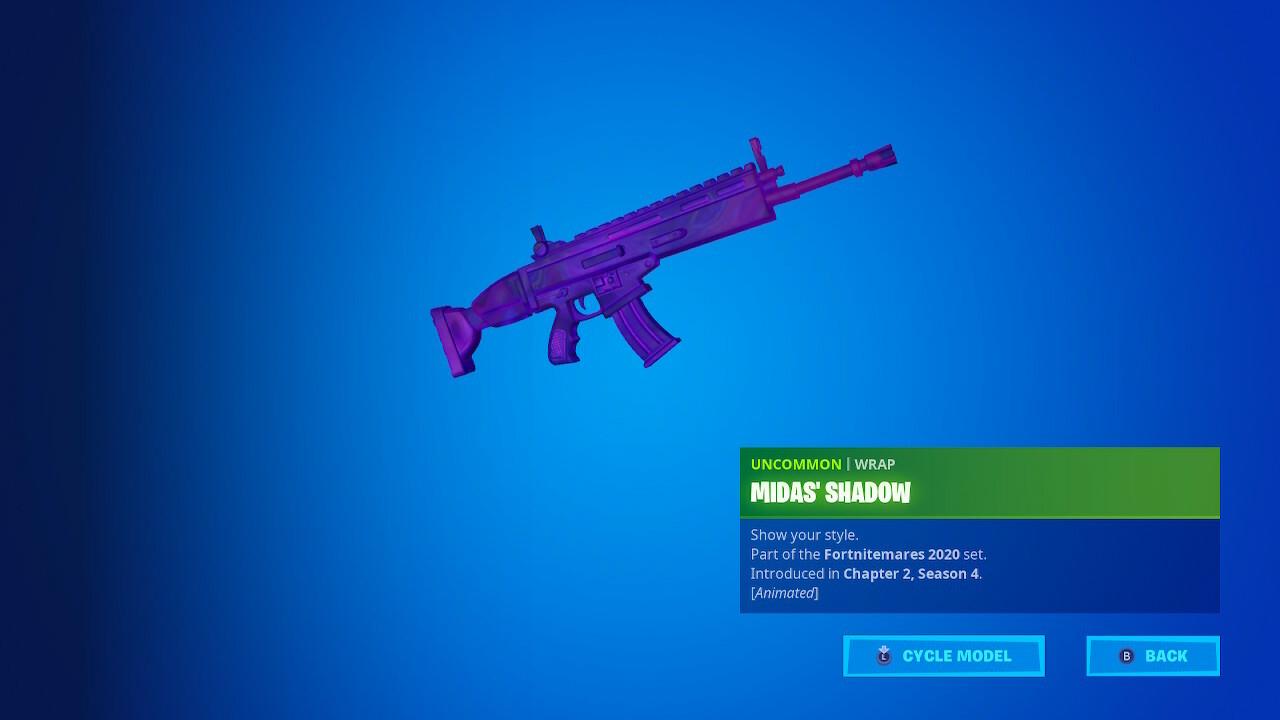 Midas Shadow Weapon Wrap