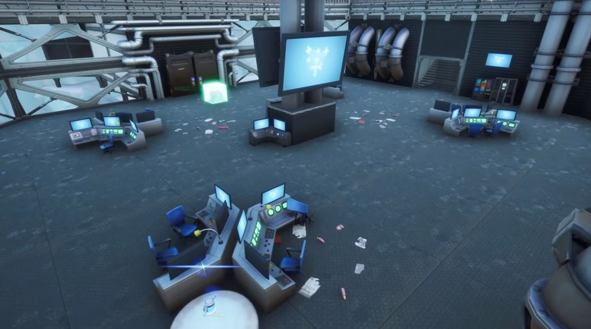 One of Fortnite's Spy Within Maps.