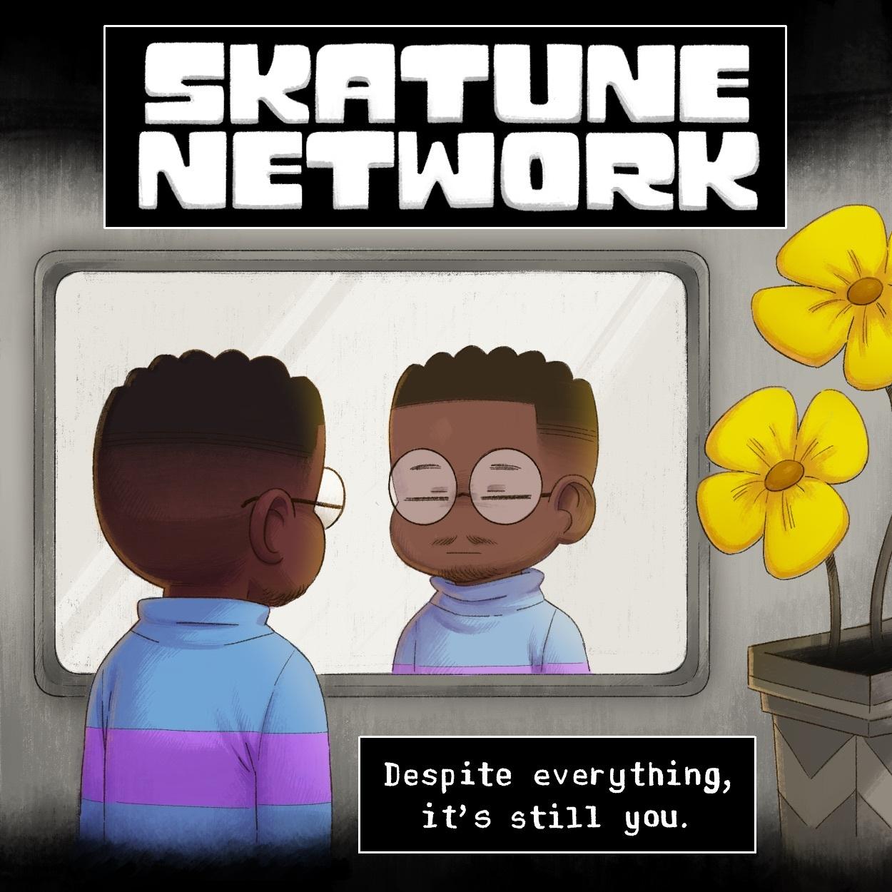 Skatune Network's new album cover art