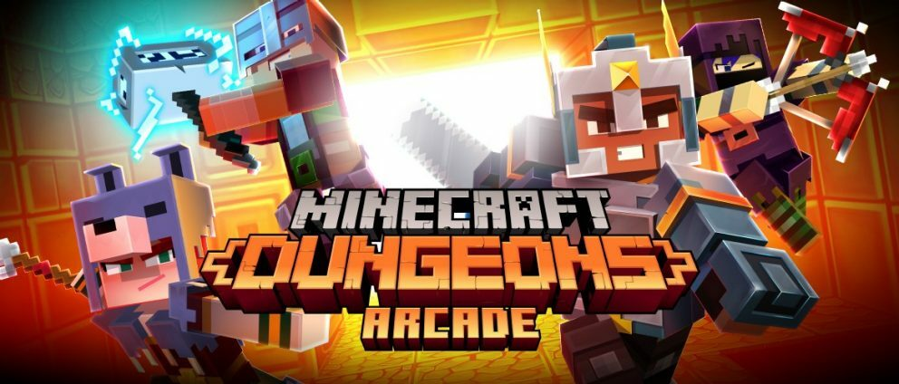 Life Minecraft Dungeons, but with more Arcade