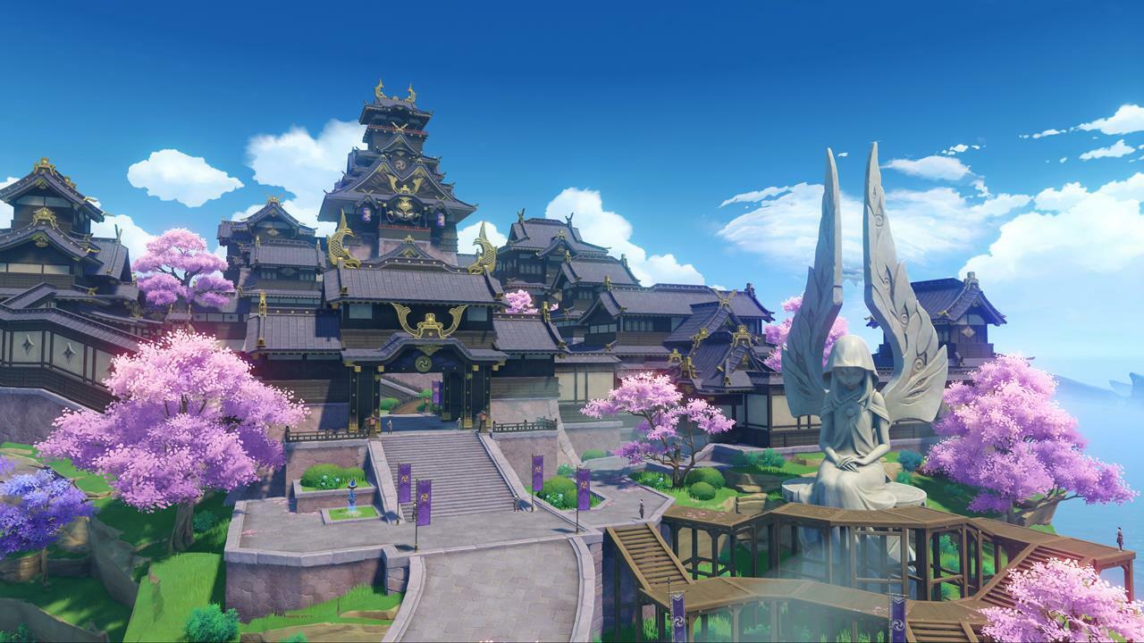 Genshin Impact's Inazuma location