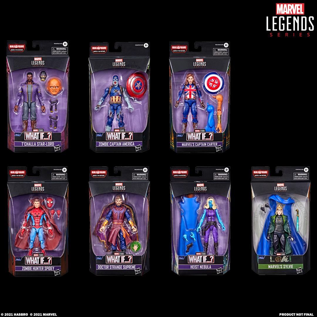 Marvel Legends e se?  Series