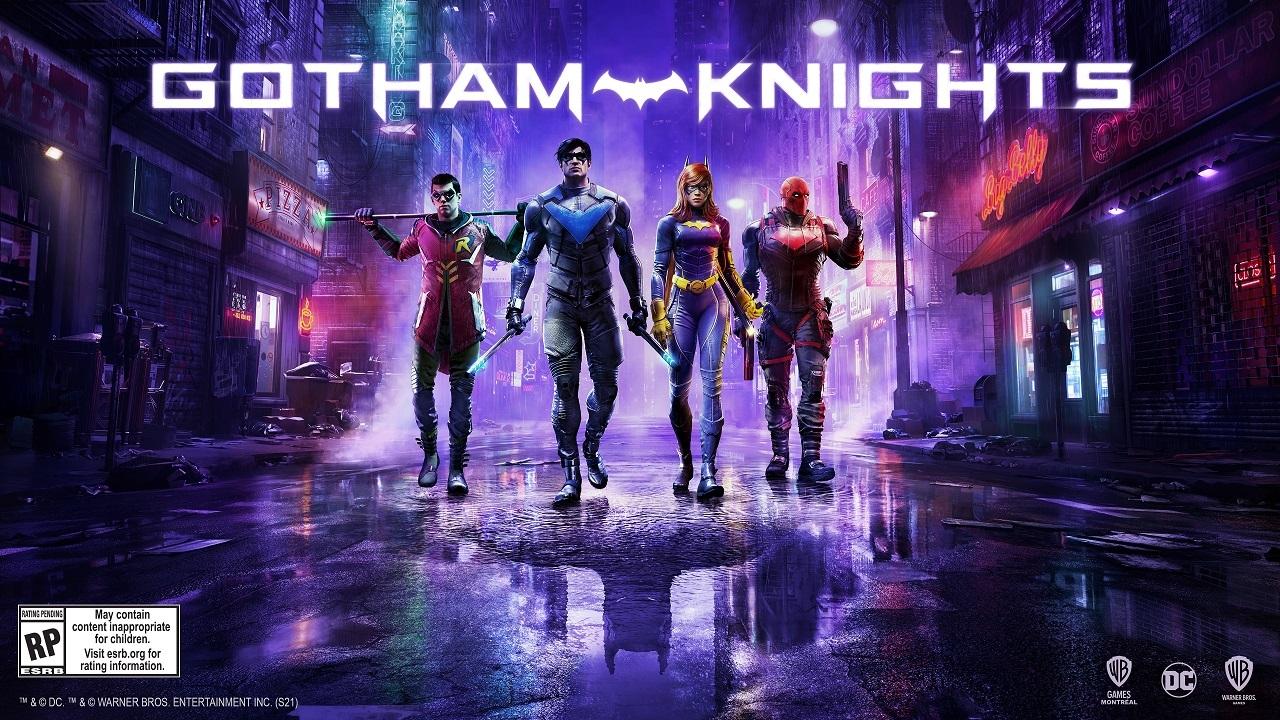 Gotham Knights, dressed to impress.