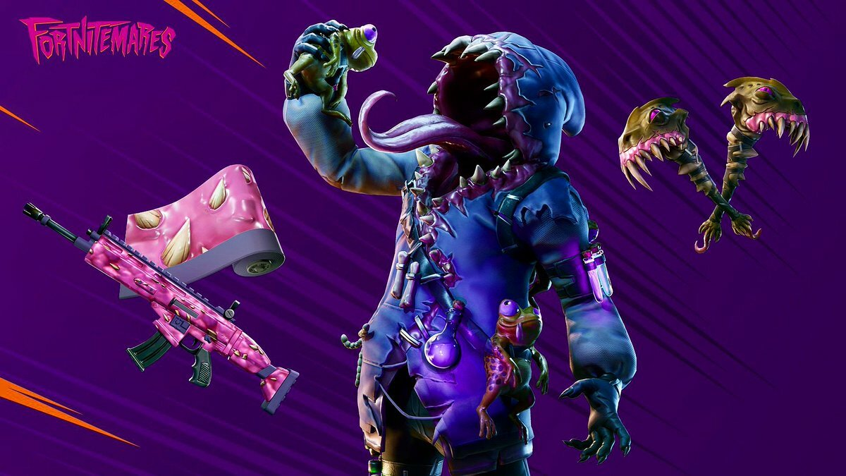 Fortnite's Halloween-inspired characters are popping up a lot lately.