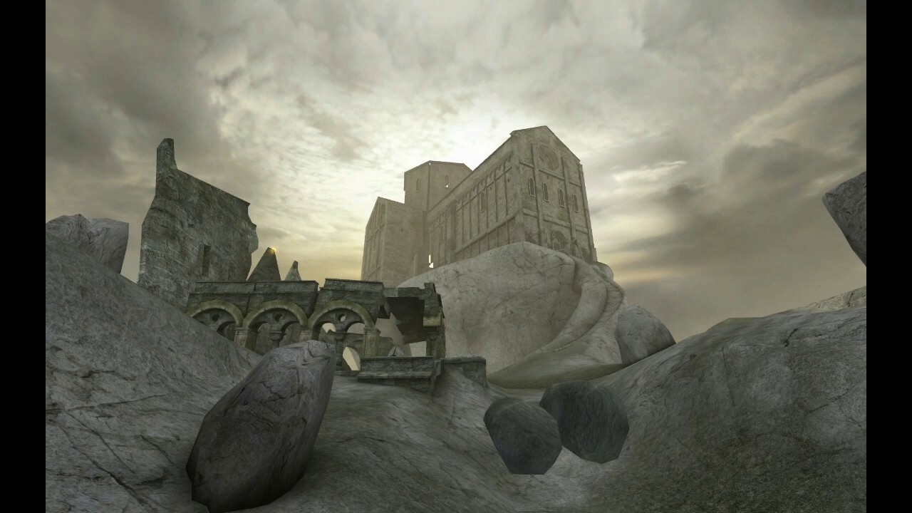 Painkiller was an awesome FPS with nasty visuals. The monastery level being one of my favorite!