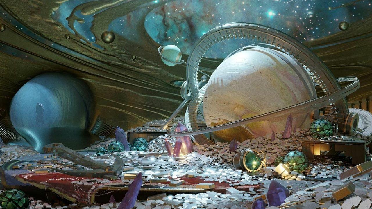 Подземелье 30-летия Bungie с отражением Зура слева